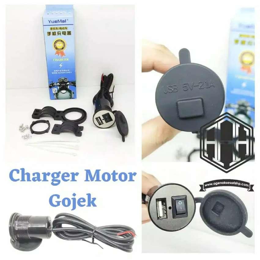 Charger Handphone Hp Usb di Sepeda Motor Waterproof