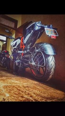 KTM 250cc bike