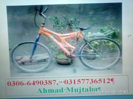 Sub sey Sasti cycle on oxl used sports bycycle good condition