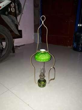 Lampu ayam mini, original tua, kondisi mulus,normal tinggal isi minyak