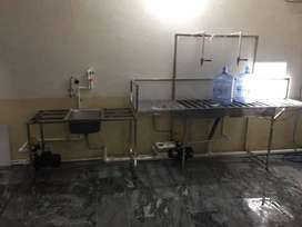 Complete setup mineral water plant 1 ton capacity