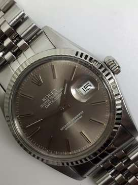 Promo Rolex men SS Datejust Greyish Brown Dial