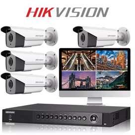 PAKET KAMERA CCTV kumplit  DVR