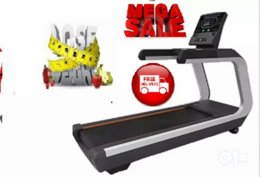 Treadmill with 5 hp Ac motor at affordable price in india 0
