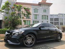MERCEDES BENZ CLA200 SPORT AMG 2018 #evelyn