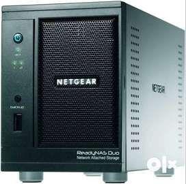 NETGEAR ReadyNAS Duo 2-Bay (Diskless) Desktop Network Attached Storage