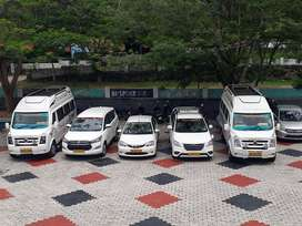 Traveller,A/c Push-back ,Innova, New Crysta, Etios taxi