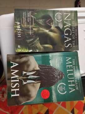 Shiva trilogy by Amish Tripathi books