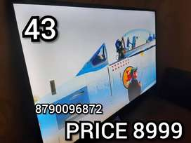 43 INCH BRAND NEW SMART Qled with 2 year warranty