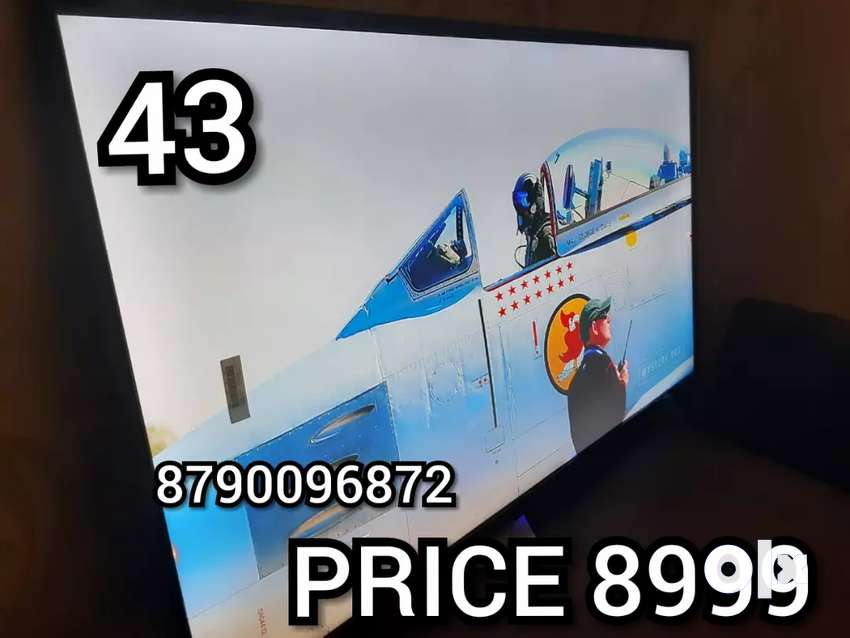 43 INCH BRAND NEW SMART Qled with 2 year warranty 0