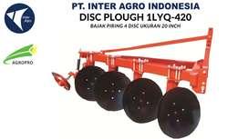 Jual Implement Traktor Disc Plough 1LYQ-420 (Bajak Piringan 4 Disc)