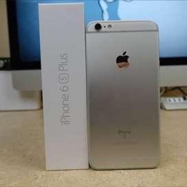 Iphone 6s plus 128Gb grey mulus banget lengkap