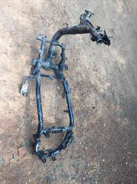 Honda Dio chassis and fork
