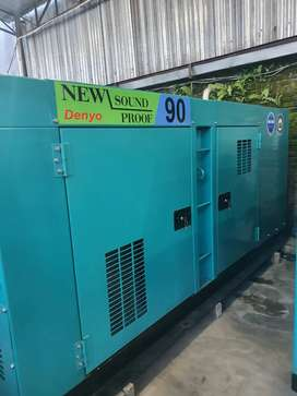 GENSET DENYO 90 BUILT UP JAPAN FULL ORI DAN GARANSI FULL SPAREPART
