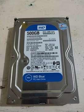 "Hardisk WD BLUE 500Gb 3.5 """