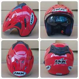 Dijual helm ink doubel visor