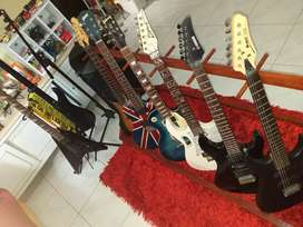 Jual murah bekas / second berbagai merk gitar , bass elektrik ,akustik