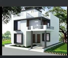 Individual house in Kushalpur Raipur