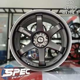 Cicilan 0% Kredit Pelek Mobil Mazda2 R17 HSR Di Toko Velg Mobil Medan