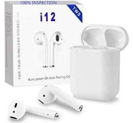 i12 TWS Bluetooth Airpods