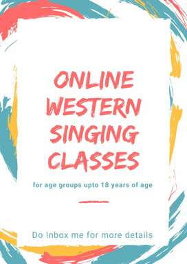 Online western singing classes