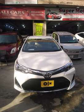 Toyota Corolla Altis X 1.6 2021 Already Bank Leased
