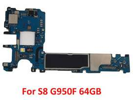 Samsung Galaxy s8 fd board pta approved with box