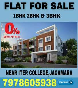 2 BHK Flats available in Jagamara Near ITER College
