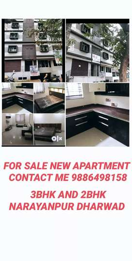3bhk and 2bhk new apartment sale