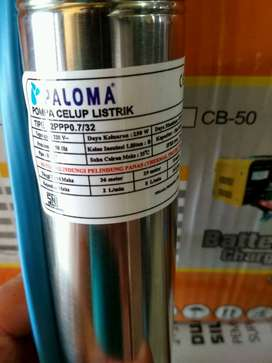 pompa celup/submersible pump paloma 2inchi with cable