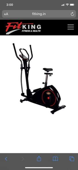 Fitking S5600 X Cross trainer cum cycle
