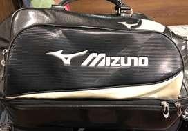 Black And White Mizuno Duffel Bag