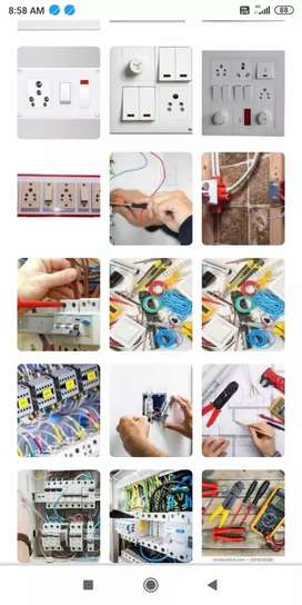 House wiring,plumbing work and Home Aplainces, Inverter and Ac service