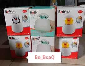 Bath Toys Dino egg water spray - mainan mandi untuk Balita