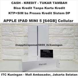 Cellular+Wifi APPLE IPAD MINI 5[64GB]New -KTP+KK bs Kredit, Info bs WA