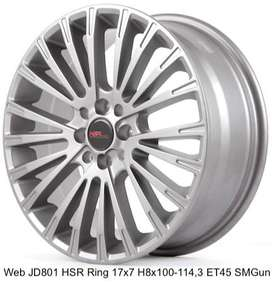 JUAL VELG WEB JD801 HSR R17X7 H8X100-114,3 ET45 SMG