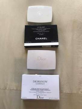Chanel  le blanc 30 beige + diorsnow compact
