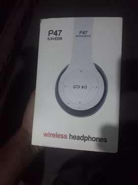 Wireless headphones P47 5.0+EDR