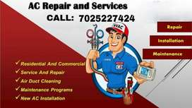AIR CONDITIONER SERVICE AND INSTALLATION