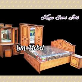 GM MEBEL Kamar Set Semi Jati