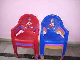 Cello plastic chairs(6 pcs.)