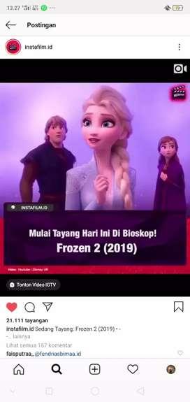 Tiket frozen 2 di TSM