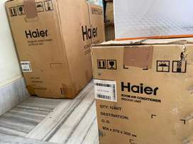 Its absolutely new Haier 1 ton split AC