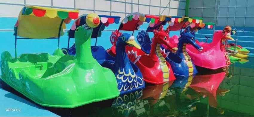 OKT jual Bebek fiber odong 2 wahana permainan air PROMO 0