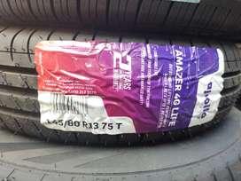Brand New Apollo tyres for WagonR Amazer 4G life 145/80/13