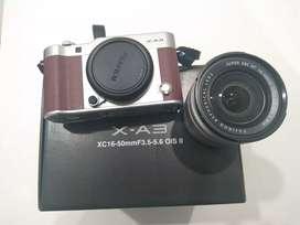 Jual FUJIFILM X-A3  mirrorless msh bagus dan mulus, 4.5jt BU