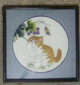Cat Painting for decoration. Home / office