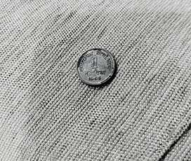 ANTIQUE COIN 1 paisa:The FIRST coin to be minted by Republic of India