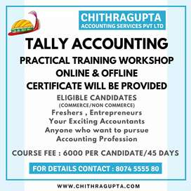 Full time tally experienced accountant