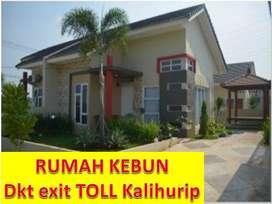 Rumah KEBUN 5mnt TOLL Kalihurip-Cipali Griya Indah Cikampek Karawang